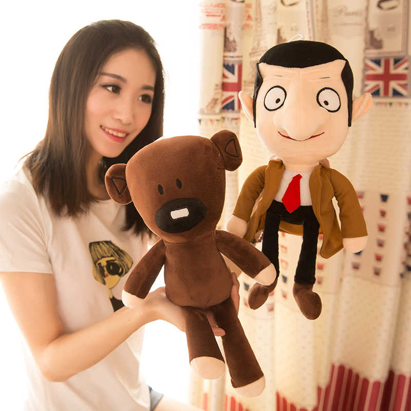 1 pcs Mr. Bean e Brown Teddy Bear 30 CM Plush Doll Stuffed Toy