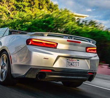 VLAND Usine Pour Feu arrière de Voiture Pour Chevrolet Camaro LED Feu Arrière 2015 2016 2017 2018 Camaro Avec LED Déplacement Du Signal feu arrière