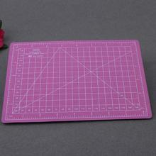 Pink Retangle PVC A5 Paper Cutting Mat Plastic Self-Healing Office Home Papers DIY Tool Plastic Craft Cut Pad School Supplies