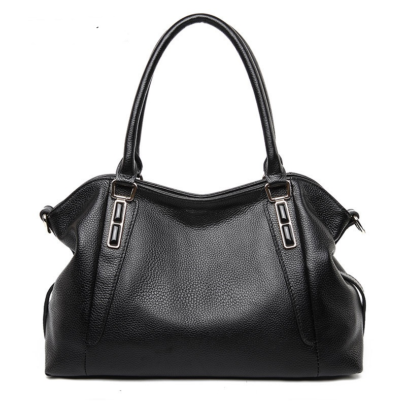 1009 Europe and The United States Fashion Layer Cow Leather Handbag Women Single Shoulder Bags Soft Leather Big Totes Women Bag1009 Europe and The United States Fashion Layer Cow Leather Handbag Women Single Shoulder Bags Soft Leather Big Totes Women Bag