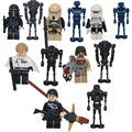 12 PCS Star Wars Darth Desonestos Um TX20 K-2SO Droid D910 Hovertank Imperial Shore Tropper Building Block Brinquedos Presentes
