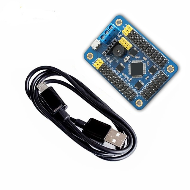 Official smarian New Version 32 Channel Robot Servo Control Board Servo Motor Controller PS2 Wireless Control USB/UART Connecti