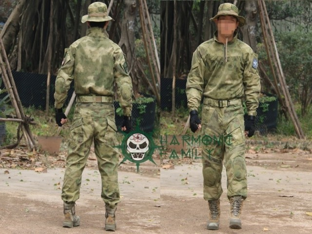 Military army combat BDU Tactical Suit &Pants with elbow&knee pads military