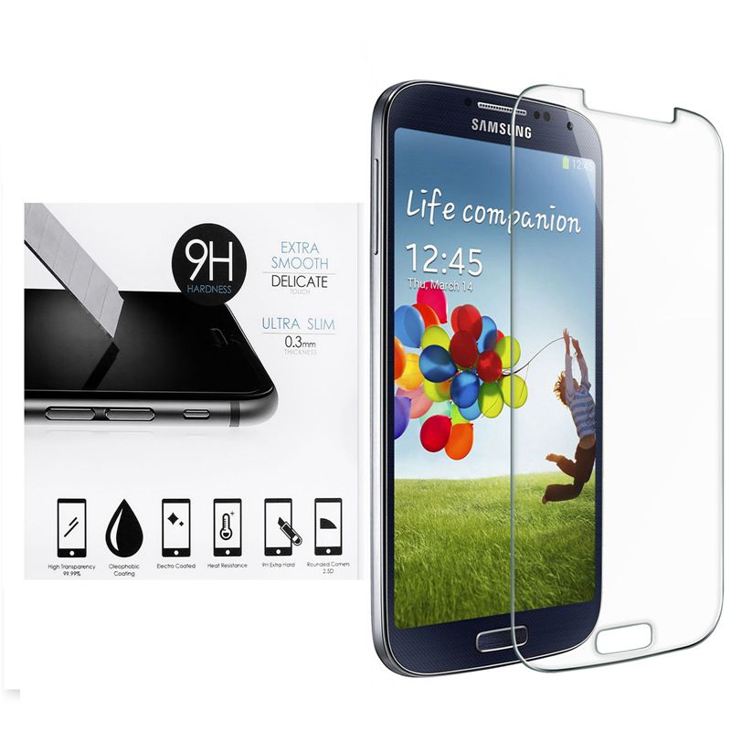 Vidrio templado para Samsung Galaxy S2 plus S3 S4 S5 mini S6 GT I9190 i8190 i9500 I9300 I9100 SM G9200 Protector de pantalla