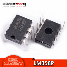 10pcs free shipping LM358 LM358P DIP-8 Operational Amplifiers – Op Amps Dual Op Amp new original