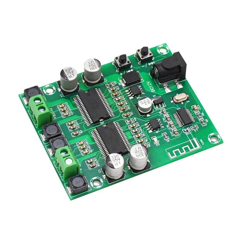 טלויזיות, פלאזמות, LCD Bluetooth מגבר מועצת Dual Core HD עיבוד HIFI Professional Edition Dual Channel 20 * 2 DIY מגברי אודיו Power דיגיטלי (2)