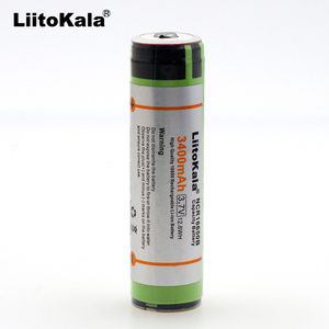 Image 2 - 2019 Liitokala 18650 3.7V 3400mah NCR18650B Lthium Battery Electronic cigarette Power Battery Plus protection board for