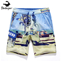 Palager Brand Summer Hawii Beach Shorts Men HOT Quick Dry Beach Print Casual Shorts Men's Sea Board Beach Shorts