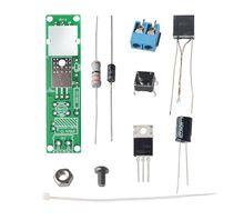 HV 1 Hoogspanning Ontsteker Diy Kit Arc Ontsteking Onderdelen Diy Kit Arc Generator Arc Sigaret Ontsteker Module Pcb Board Dc 3V 5V 3A