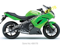 Hot Sales,Racing fairing kit 06 07 08 Fairings kit For Kawasaki ER 6F Body Kit 2006 2008 Green Ninja 650 Motorcycle Fairing Set