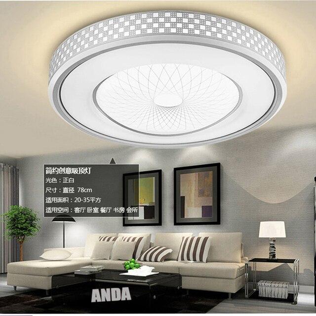 Moderne Led wohnzimmer lampe schlafzimmer lampen warm fernbedienung ...