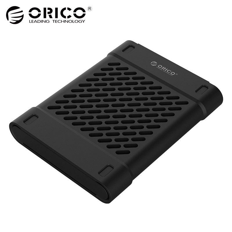 ORICO 2,5 pulgadas silicona protectora caja de almacenamiento para disco duro SSD negro/azul/gris/amarillo