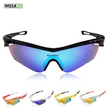 WOLFBIKE Outdoor Sports Bicycle Sunglasses UV400 Polarized Lens Cycling Glasses Bike Accessories Bike Skiing Jogging Goggles