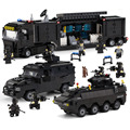 2018 Building Blocks Sets SWAT Team Transport Armored Vehicle Compatible Legoed SWAT City Police Gift Toys for Children Kids