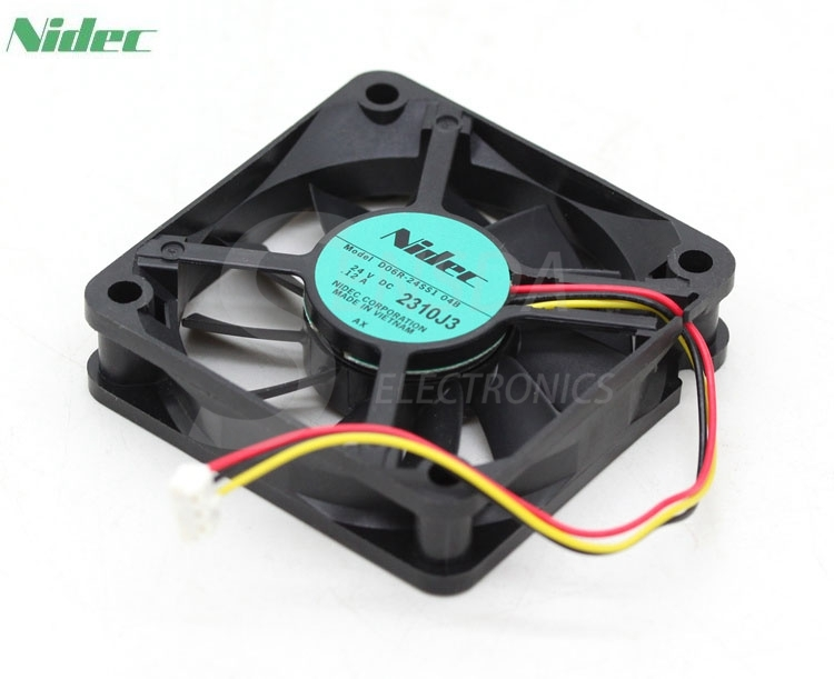 SXDOOL Original YM1206PHS1 12V 0.15A 6CM 6015 60mm 2-wire power chassis cooling fans