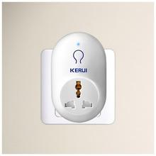 KERUI S71 EU 미국 영국 AU 표준 전원 소켓 스마트 스위치 여행 플러그 소켓 KERUI 보안 도난 경보 시스템과 함께 작동