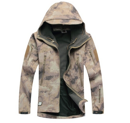 Atacs Waterproof Soft Shell Tactical Jacket Outdoor Hunting font b Sports b font Army SWAT Military