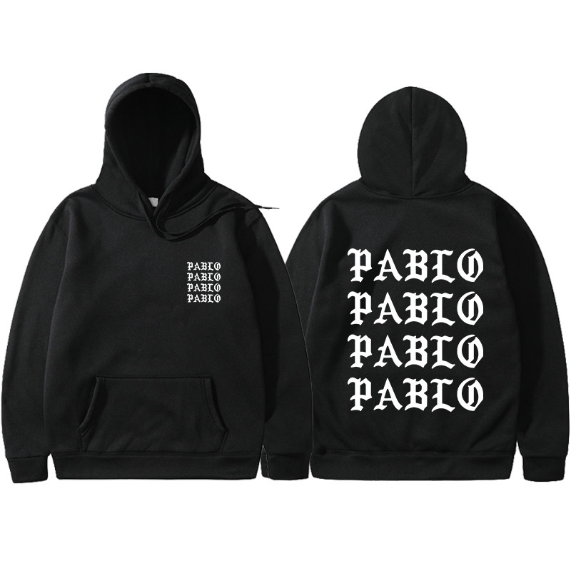 Hoodie Men Sweatshirts Pullover Long-Sleeve I-Feel Like Winter Pablo Kanye West Women