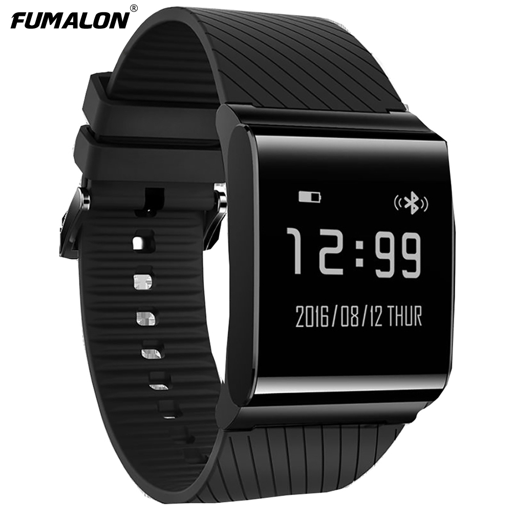 X9 Smart Watch Color OLED Blood Pressure Blood Oxygen Monitor Heart Rate Fitness Tracker Wristbands pk X9 Pro