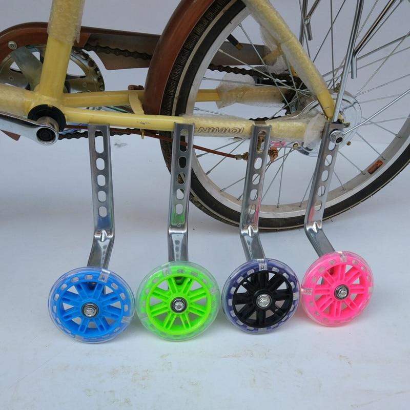 "Universal Kids Bicycle Training Wheels Fits 12/"" 14/"" 16/"" 18/"" 20/"" Bikes Red USA"