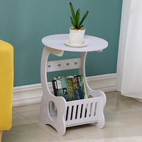 Nordic Living Room Mini Small Round Table Modern Simple Small Sofa Table Bedside Table Bedroom Furniture
