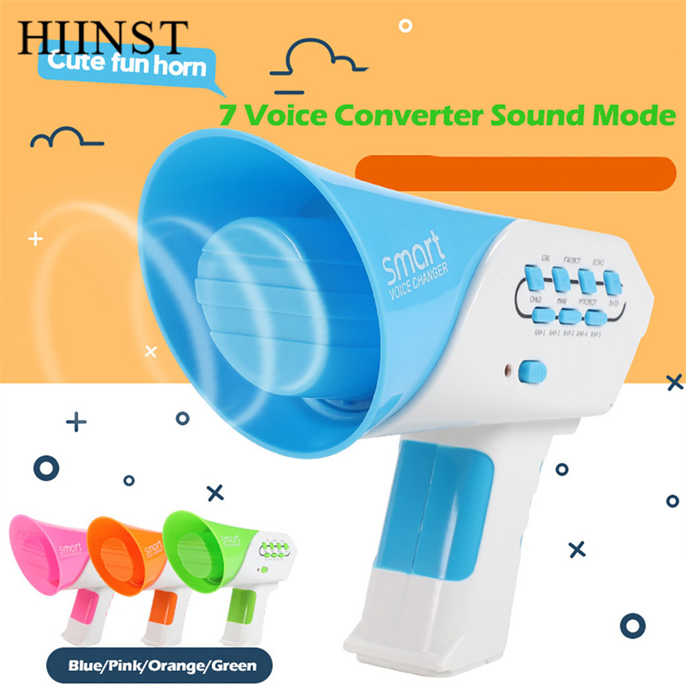 HIINST Toys children Voice Changer adults kids Smart Amplifier 7 Different  Voice children party toys 2019 sounding Toy kids gift