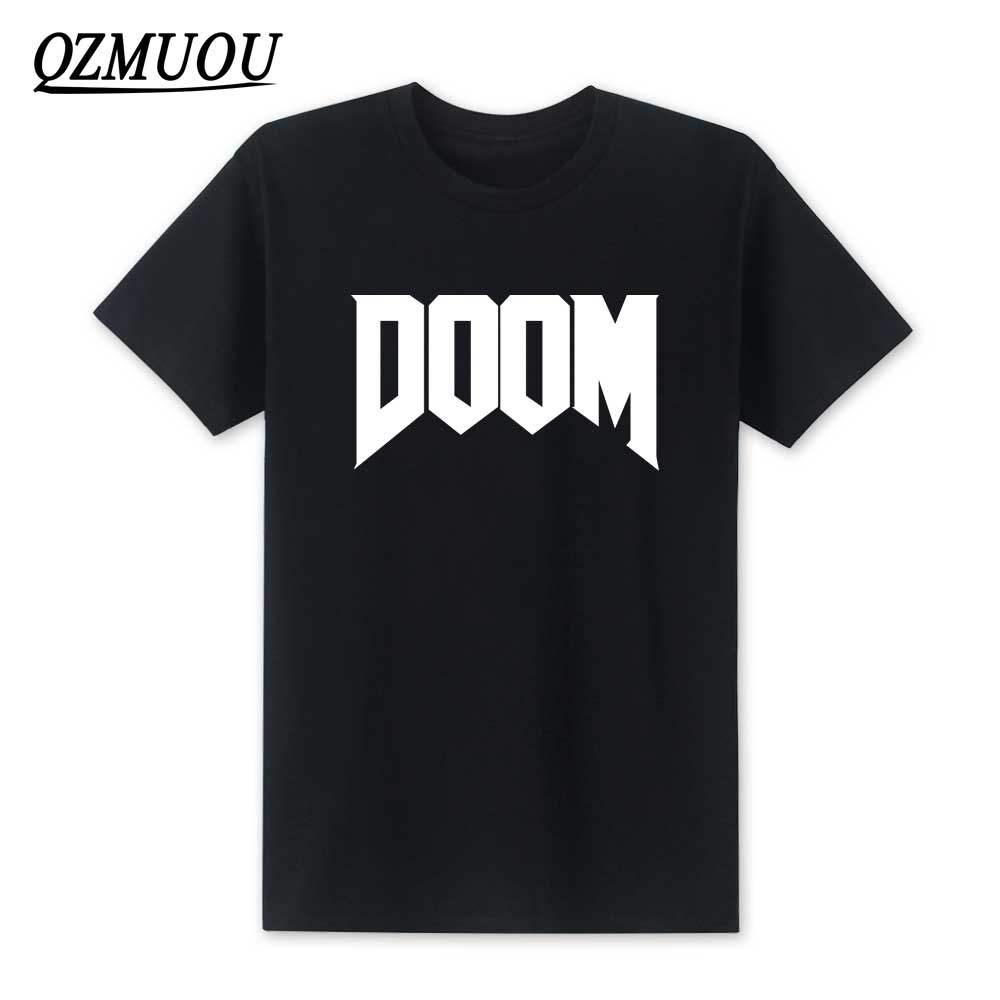2018 New Fashion Doom T-shirt All Time Great Video Game Unoffical in Mens O-Neck T Shirt Cotton Top Tee High Quality Size XS-XXL