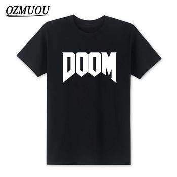 2020 Новая мода Doom футболка все время отличная видео игра Unoffical in Мужская футболка с круглым вырезом хлопковая футболка высокого качества Размер XS-XXL
