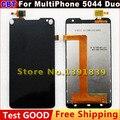 """Nueva pantalla táctil de 5.0 """" Prestigio MultiPhone 5044 Duo PAP5044Duo teléfono inteligente cristal lcd pantalla de visualización PAP5044 Duo envío gratis"""