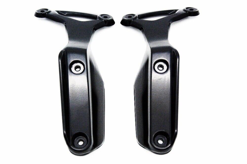 for BMW R nine T Front Side Fender Mud Guard Hugger Brackets R 9t 2014- 2017 for bmw r nine t techometer speedometer ring cover r 9t
