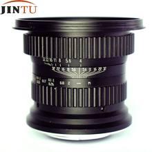 JINTU – objectif Macro Fisheye 15mm f/4.0 grand Angle pour appareil photo NIKON D7500 D7200 D5500 D5300 D5200 D3400 D90 D800 D600 D500 D300 DSLR