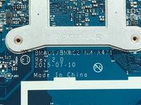 BiNFUL PROMISED 100% NEW BMWC1/BMWC2 NM A471 LAPTOP MOTHERBOARD FOR LENOVO 300 15IBR NOTEBOOK PC on board cpu N3060