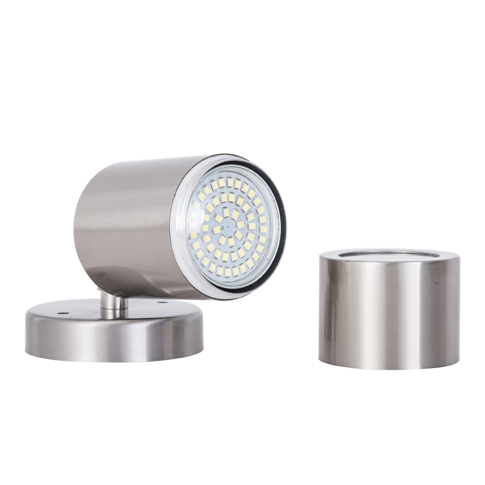 Waterproof IP65 LED Wall Lamps Outdoor Lighting with GU10 Lamp Base Led Wall Lights Led Porch Lamps AC85-265V