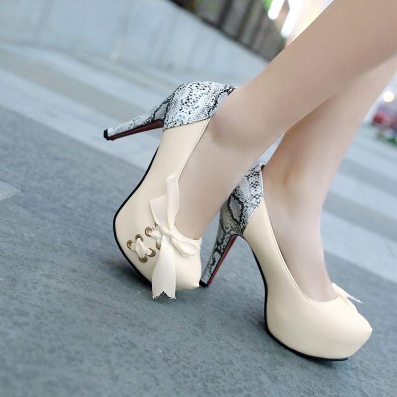 Blxqpyt 11 Mujer Femmes Mode Talons Parti Pompes C rose La 32 Plus Mariage blanc Doux Plate forme Taille Haute Femme Noir 12 Cm De Chaussures Zapatos 43 rPw7rU