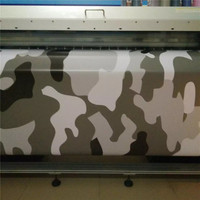 Jumbo Military Green Camouflage Vinyl Car Wrap Large Camo Film Sheet With Air Bubble Fre For