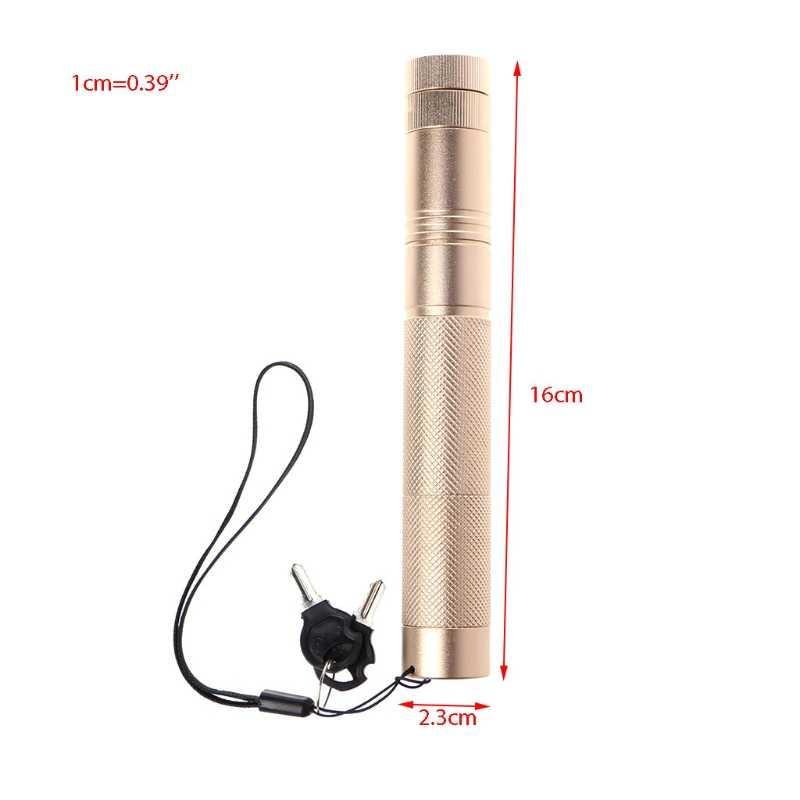 1 יחידות עוצמה לייזר עט 303 מצביע לייזר ירוק 532nm פוקוס מתכוונן אור המקצועי לייזר מצביע להוראה
