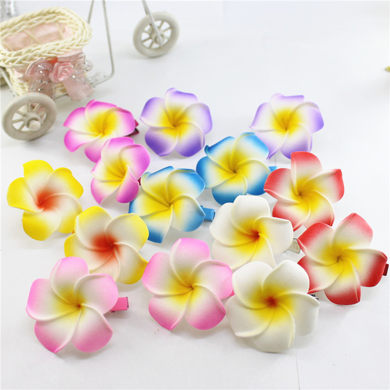Kids Girls Chinese Style Tassel Hair Clip New Year Party Ball Floral Hairpins UK
