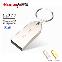 Maxchange USB Flash Drive High Speed USB Stick USB 2.0 Pen Drive USB Memory Stick U Disk 32GB Metal Pendrive