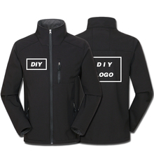 Własne Logo Design drukowane męskie kurtki jesienne wodoodporny płaszcz wiatroszczelny zamek Softshell Degisn topy na wierzch