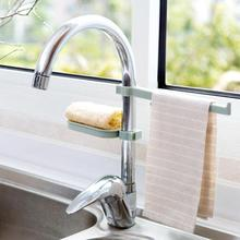 Water Tap Sink Hanging Storage Rack Dishcloth Towel Sponge Holder Drain Shelf Bathroom Kitchen Faucet Clip Dry Towel Organizer
