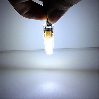 Купить с кэшбэком 10pcs G4 3W 2COB G4 LED Lamp corn led Mini Lampada led Bulb Lamp High Power 360 Degree Replace Halogen Lamp Bi-pin Lights 12V