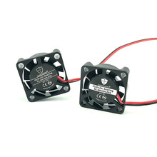 GUNCAIZHU 25mm Borstelloze Koelventilator 12V 5V DC Mini Cooler high speed 11870RPM 2.5cm micro fan heatsink 2507 25x25x7mm