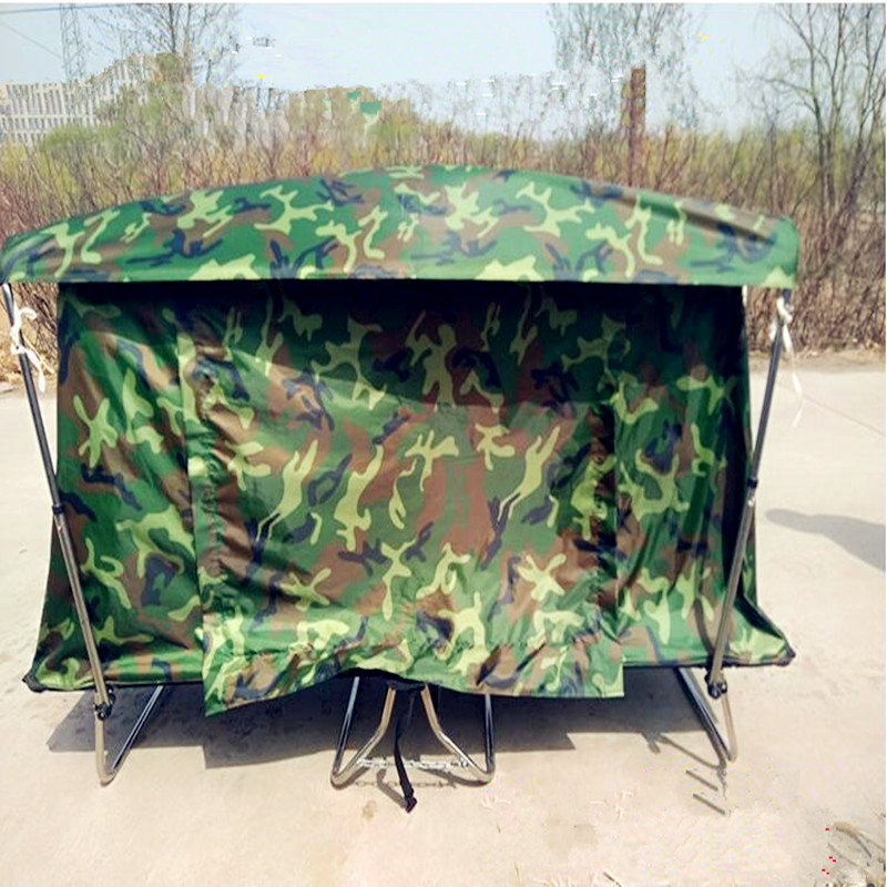 цена на 2018 newest outdoor fishing Off-site tent bed camping tents single moisture-proof sunscreen tent waterproof tent