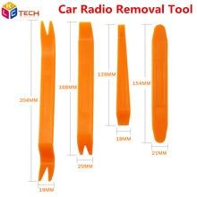 Автомобильный инструмент для удаления радио, автомобильный Стайлинг, 4 шт., монтажный инструмент, удаление отделки автомобиля, аудио, дверная панель, инструменты для кокпита, аксессуары для автомобиля
