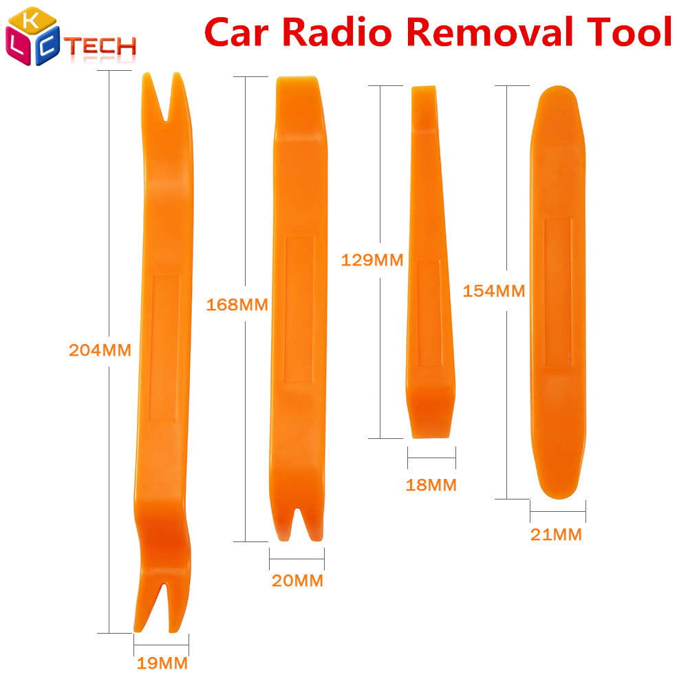 Car Radio Removal Tool Car-styling 4PCS Pry Installer Removal Trim Car Audio Door Panel Cockpit Tools For Car Accessories