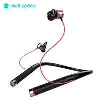 ROCKSPACE Mudo Bluetooth Earphone With Mic Wireless Neckband SoundBuds Lite Sport Headphones IPX5 Waterproof Stereo Earphones
