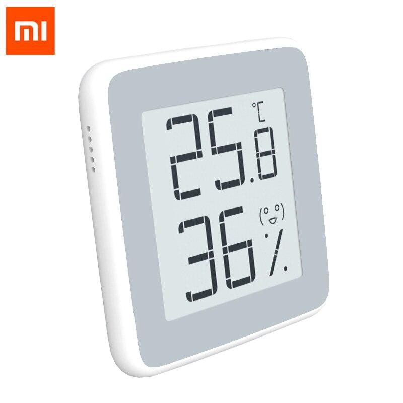 Sensor de humedad temperatura termómetro Xiaomi Mijia Miaomiaoce Original con pantalla LCD pantalla Digital de tinta electrónica