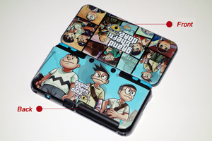 Image 5 - Matte Protector Cover Plate Protective Case Housing Shell for Nintend New 2DS LL/ New 2DS XL for Doraemon MHX