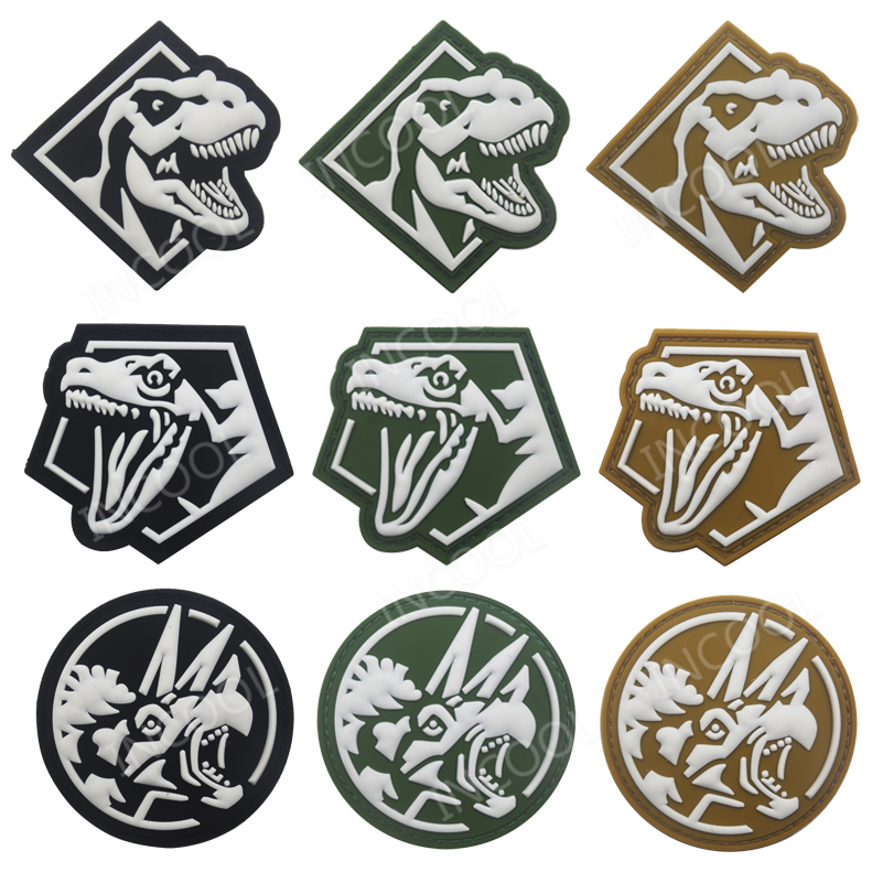 Grey The Avengers S.H.I.E.L.D Tactical Military Morale 3D PVC Patch