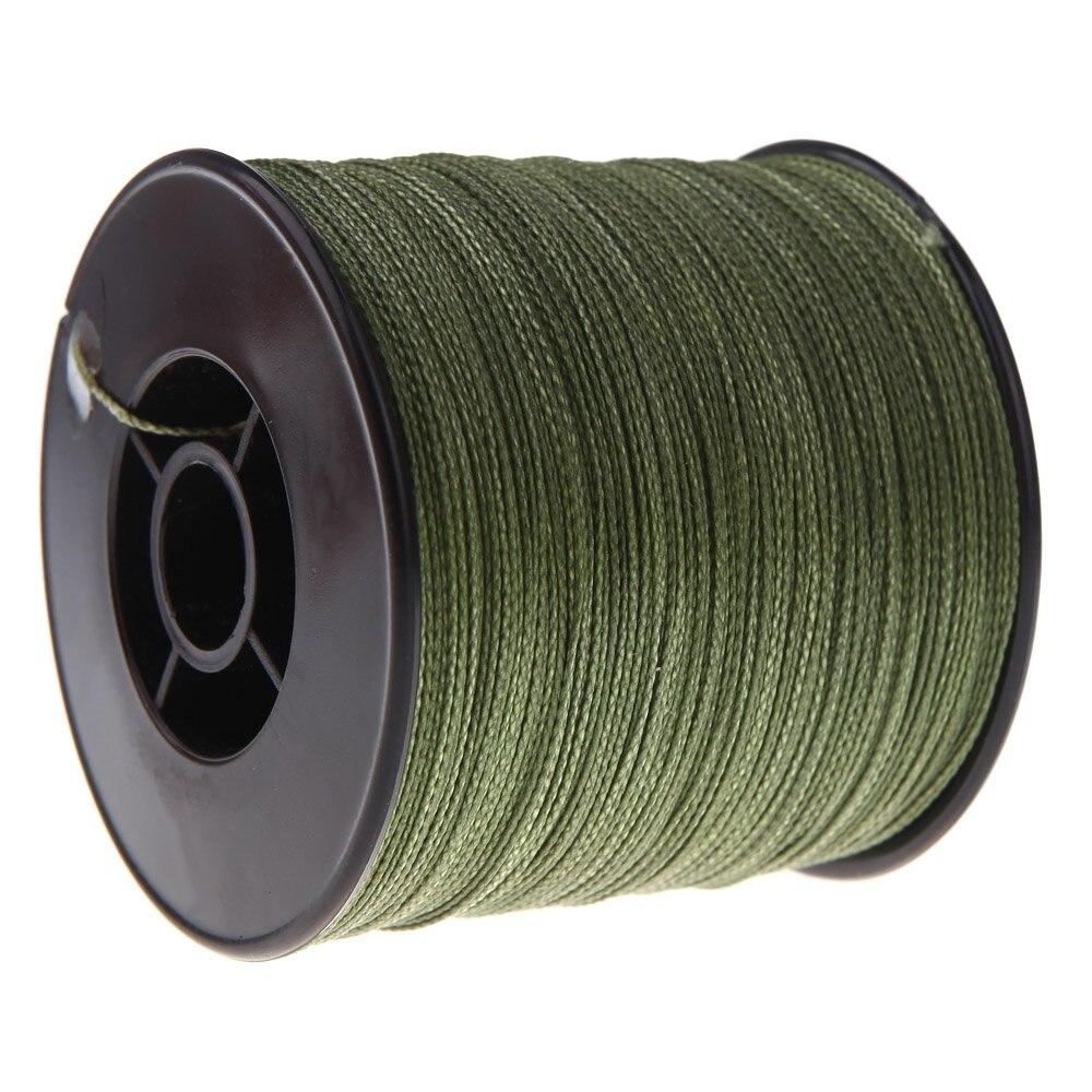 8 Pack 300M fishing line 100 LB 0.55mm Strong PE braid Green